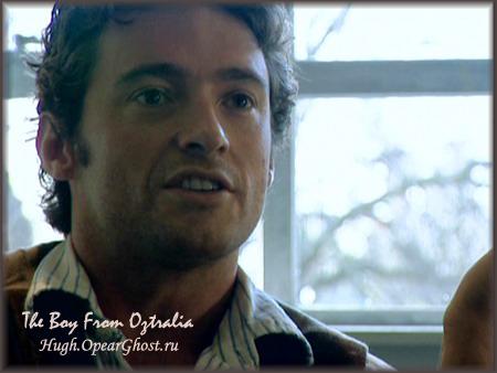 Hugh speaking and speaking